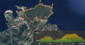 Ibiza´s route Portinatx - Moscarter Lighthouse
